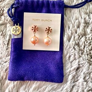 Tory Burch sale💥1 day Crystal Pearl earring